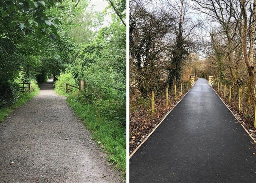 Keswick to Threlkeld Railway Path Restoration