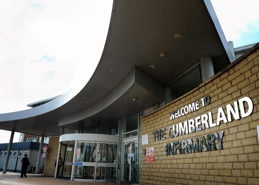Cumberland Infirmary hospital in Carlisle