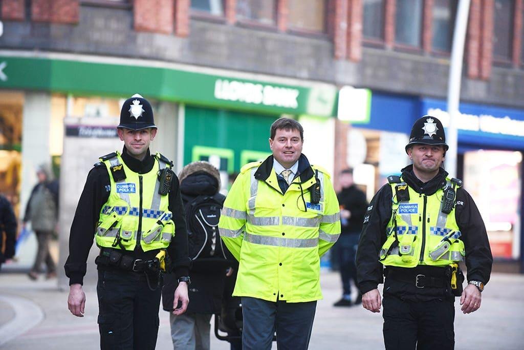 Cumbria police and crime commissioner Peter McCall