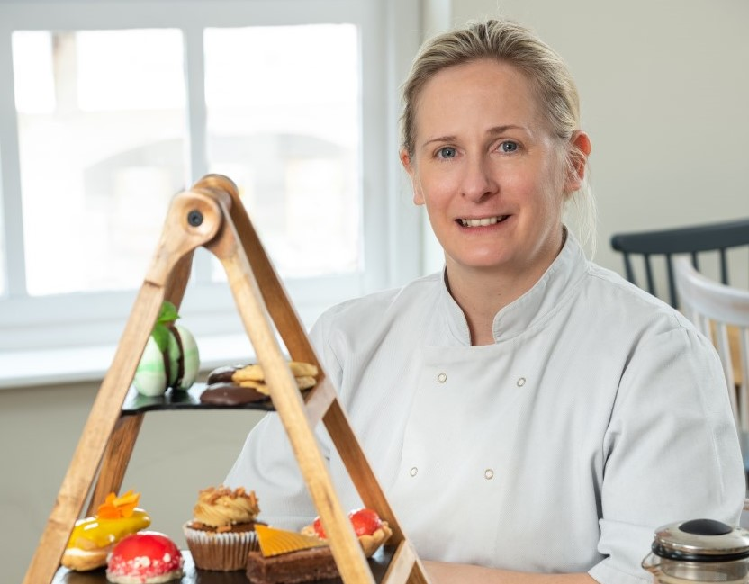 Pastry chef, Paula Murchison, former head pastry chef at Sharrow Bay, has joined the team at The Wild Strawberry in Keswick